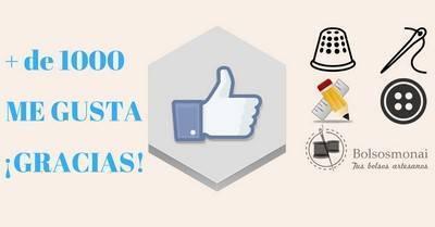 Más de mil fans en Facebook, gracias a todos